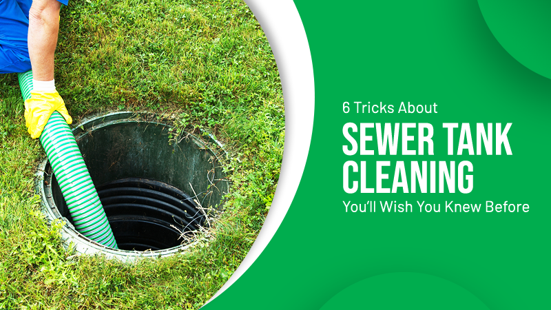 Sewer Tank Cleaning